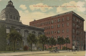 Hotel Windle Postcard Fort Myers