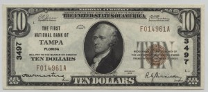 1929 Type 1 $10 Note Charter #3497