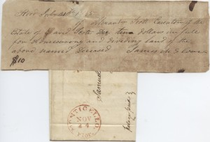 1845 Monticello, FL. Mailed First Year Florida as a State