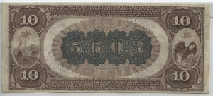 1882 Brown Back $10 Note Charter #5603