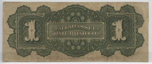 "1870 $1 ""A""  Plate Note"