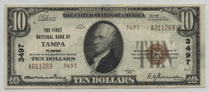 1929 Type 2 $10 Note Charter #3497
