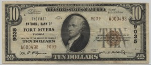 1929 Type 2 $20 Note Charter #9035