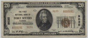 1929 Type 2 $10 Note Charter #9035