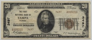 1929 Type 2 $20 Note Charter #3497