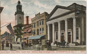 National Bank of Jacksonville Post Card