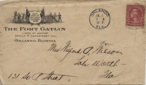 1927 Orlando The Fort Gatlin
