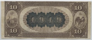 1882 Brown Back $10 Note Charter #4949