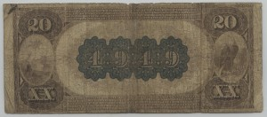 1882 Brown Back $20 Note Charter #4949