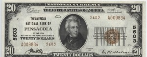 1929 Type 2 $20 Note Charter #5603