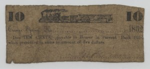 1862 .10 Cent Note