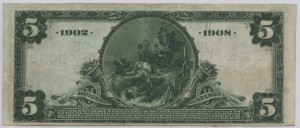 1902 Date Back $5 Note Charter #9035