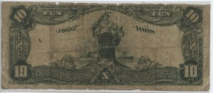 1902 Date Back $10 Note Charter #4949