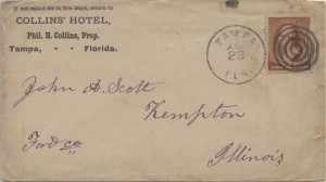 1884 Tampa Collins' Hotel