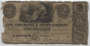 "1836 $2 ""A"" Plate Note from Harley L. Freeman Collection"