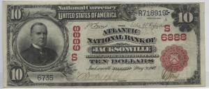 1902 Red Seal $10 Note Charter #S6888