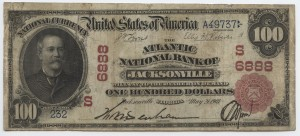 1902 Red Seal $100 Note Charter #S6888