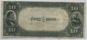 1902 Date Back $10 Note Charter #4672