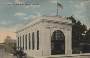 First National Bank Post Card
