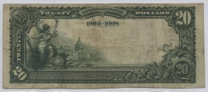 1902 Date Back $20 Note Charter #4672