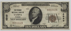 1929 Type 1 $10 Note Charter #4949