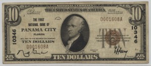 1929 Type 1 $10 Note Charter #10346