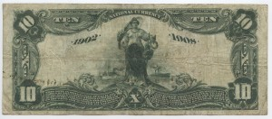 1902 Date Back $10 Note Charter #S6888