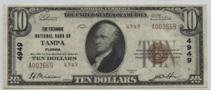 1929 Type 2 $10 Note Charter #4949