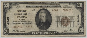1929 Type 2 $20 Note Charter #4949