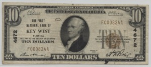 1929 Type 1 $10 Note Charter #4672