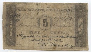 1862 .5 Cent Note