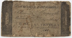 1861 6 1/4 Cent Note