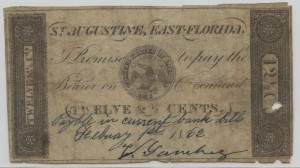 1862 12 1/2 Cent Note