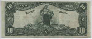 1902 Date Back $10 Note Charter #7153