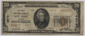 1929 Type 2 $20 Note Charter #4672