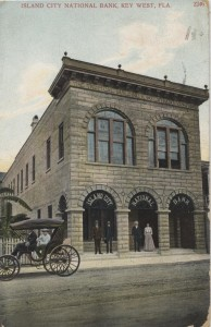 Island City National Bank Post Card