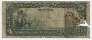 1902 Date Back $20 Note Charter #7153