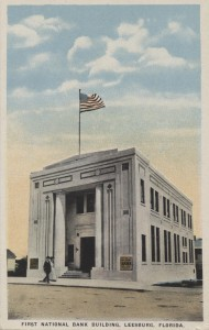 First National Bank Building Post Card