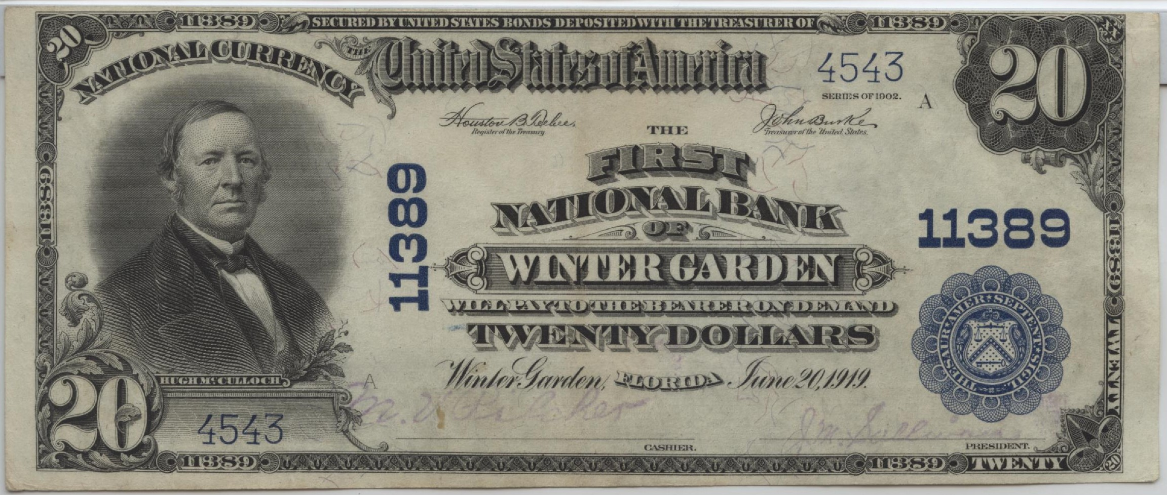 winter garden hometown currency
