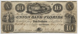 1840 $10 A Plate Note