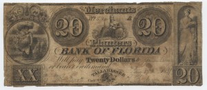 1837 $20 A Plate Note