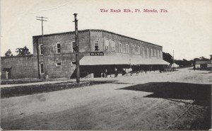 The Bank Blk. Ft. Meade Post Card