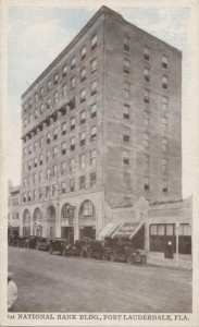 First National Bank Bldg. Post Card