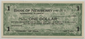 1933 Bank of Newberry $1
