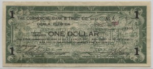 1933 The Commercial Bank & Trust Co. $1