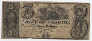 1843 $3 Note