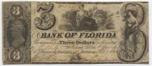 1844 $3 Note