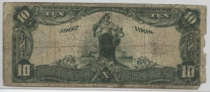 1902 Date Back $10 Note Charter #9707