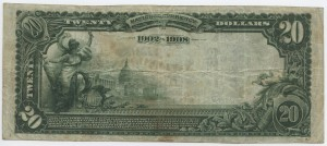 1902 Date Back $20 Note Charter #7423