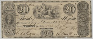 1843 $20 Note